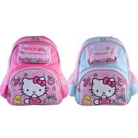 富乐梦 Hello Kitty凯蒂猫 可爱卡通幼儿双肩学生书包 背包-红色/蓝色