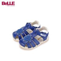 【99元任选2双】百丽Belle童鞋男童女童休闲凉鞋婴幼童宝宝鞋 CE6535 CE6536 CE6537