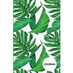 预订 Journal: Palm Leaves, Tropical, Daily Journal, Lined, Sm