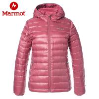 Marmot/土拨鼠运动户外女士冬季700蓬防风拒水轻量保暖羽绒服