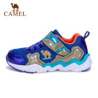 camel骆驼童鞋男童中大童跑鞋网面魔术贴舒适透气跑步鞋