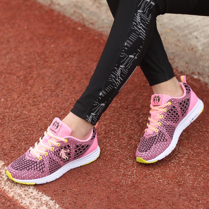 乔丹女鞋秋季跑步鞋女轻便减震学生休闲鞋跑鞋运动鞋XM16602018.5-7日 满200减50 满400减100