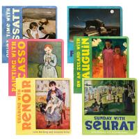 【顺丰包邮】Mini Masters 小小艺术家系列6册 英文原版艺术世界名画纸板书 儿童启蒙图画艺术百科书亲子阅读D