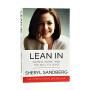 现货 向前一步 Lean In 英文原版 欢乐颂安迪原型 Facebook执行官 Sheryl Sandberg 女性励志 硅谷影响力人物 雪莉 桑德伯格