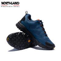 诺诗兰登山徒步鞋男2020冬季户外无缝防滑防撞减震低帮NLSAH5605S