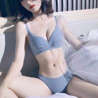 调整型内衣女小胸聚拢收副乳无钢圈性感无痕胸罩上托防下垂文胸