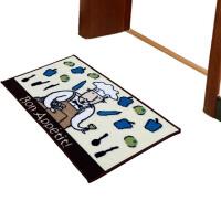 加厚厨房垫防滑吸水地垫 丙纶地毯门厅脚垫