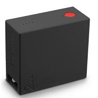 联想thinkplus 随身充 手机移动电源/充电器 智能双模二合一 便携随身充 双USB输出 CTA12极夜黑