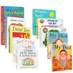 【顺丰包邮】英文原版热门纸板书10册I am a bunny我是一只兔子Dear Zoo亲爱的动物园Brown Bea