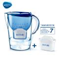 碧然德(BRITA) 过滤净水器 家用滤水壶 净水壶 金典 Marella3.5L蓝色 1壶7芯