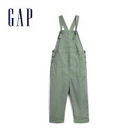 [3件享2.5折价:125元]Gap孕妇装弹力阔腿型背带裤春551228 2020新款工装风格女士裤子
