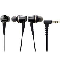 铁三角(Audio-technica)CKR100IS ATH-CKR100IS 线控带麦入耳式HIFI耳机 黑色