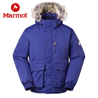 Marmot/土拨鼠运动户外防水加厚户外羽绒服700蓬拒水保暖羽绒大衣