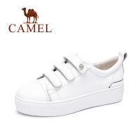 Camel骆驼女鞋新款时尚休闲厚底单鞋平底鞋女单鞋