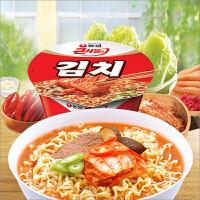 韩国进口食品 农心 辣白菜大碗面112g碗