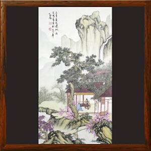 《三月春光浓似酒》孙亮-中国美协会员,中国书协会员【HOOML2389】