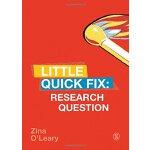 【中商原版】研究问题(社会科学研究方法速成系列)英文原版 Research Question Zina OLeary