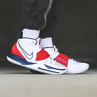 Nike Kyrie 6 �W文6代 USA美���男子���疬\�踊@球鞋 BQ4631-102