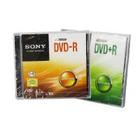 索尼刻录盘 索尼/SONY DVD刻录盘 4.7G DVD-R/+R 16X 空白刻录光盘 单片装