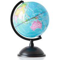 得力地球仪 得力3033地球仪 20cm高清全塑行政地理教学地球仪