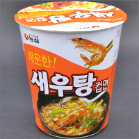 韩国进口食品 农心 虾汤小碗面67g杯
