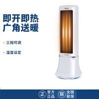 格力(GREE)暖风机NTFD-X6020b- 取暖器 立式摇头 电暖气 快速加热定时温度调节电暖气 居家办公室台式取暖