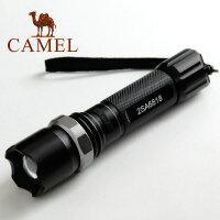 CAMEL 骆驼 户外 强光远射 调焦变焦 LED充电 迷你手电筒 2SA6818