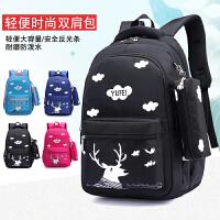 韩版儿童包包3-4-5-6年级小学生书包男女生6-12周岁减压双肩背包