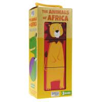 英文原版THE ANIMALS OF AFRICA非洲的动物 儿童绘本