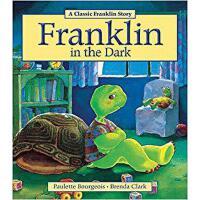 英文原版 小乌龟富兰克林 怕黑的富兰克林 Franklin in the Dark