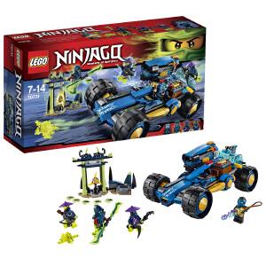 [当当自营]LEGO 乐高 NINJAGO幻影忍者系列 杰的闪电加农战车 积木拼插儿童益智玩具 70731