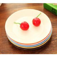 懿聚堂 9687厨房餐具炫彩 小碟子 创意水果盘子零食碟