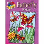3-D Coloring Book -- Butterfly Designs(POD)