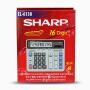 SHARP夏普EL-6138计算器银行财务用电脑按键计算机16位数