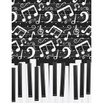 预订 Music Notebook 04: Blank Sheet Music Staff Manu* Paper,