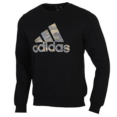 Adidas阿迪达斯男装运动服休闲圆领卫衣套头衫GH4412 运动服休闲圆领卫衣套头衫