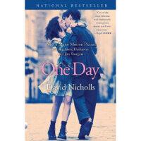 【二手旧书8成新】One Day, Movie Tie-In一天,电影版 英文原版 David Nicholls(戴维