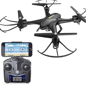 【满159减80】进阶款HS200高清航拍无人机WIFI传输大型遥控飞机四轴飞行器玩具
