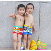 卡通车儿童泳衣/裤儿童泳衣男童游泳衣泳裤平角