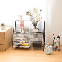 铁艺置物架厨房书桌面宿舍分层收纳整理寝室化妆品收纳架