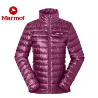 Marmot/土拨鼠户外女士700蓬轻薄防泼水羽绒服
