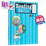 阅读技巧二年级 英文原版 Reading Skills: Grade 2 Flash Kids Editors Ste