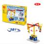 3c认证万格拼装教学机械组手动积木儿童益智玩具