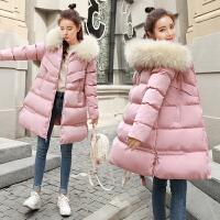 冬季孕后期棉袄外套孕妇韩版宽松棉衣孕妇冬装中长款