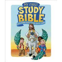 【预订】My First Study Bible: Exploring God's Word on My Own!