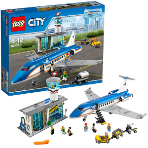 [当当自营]LEGO 乐高 City城市系列 机场航站楼 积木拼插儿童益智玩具60104