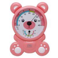 得力 9014 儿童温度计 室内温度计 湿度计 温湿度计