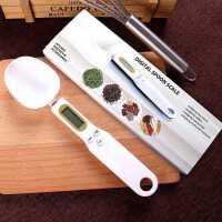 家用高精度厨房秤0.1g电子量勺子食物称 单手厨房称克数 烘焙工具