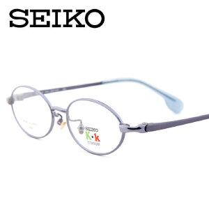 SEIKO精工近视眼镜框 全框圆框纯钛超轻儿童眼镜框架 KK0014C