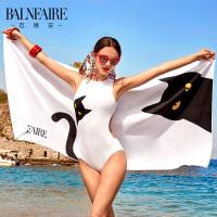 范德安印花速干浴巾 温泉游泳吸水沙滩巾 运动健身旅行毛巾干发巾